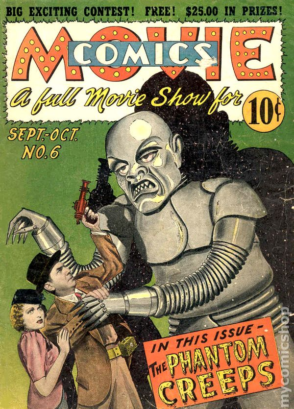 Scavenger Hunt List >> Movie Comics (1939 National) comic books