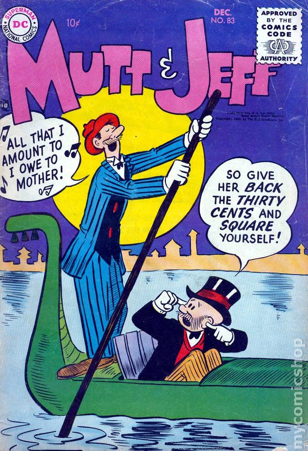 Mutt and Jeff (1939-65 All Am /National/Dell/Harvey) comic books