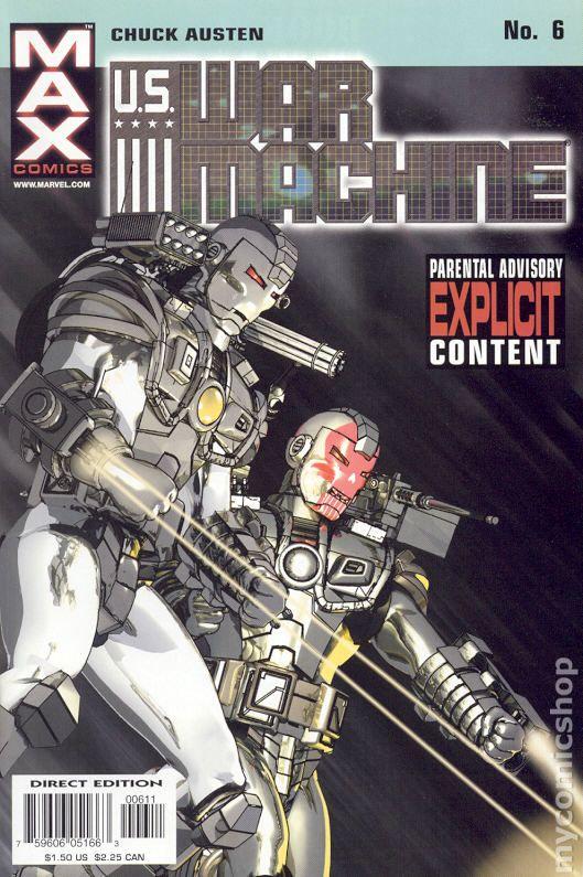 1994 Len Kaminski /& Gabriel Gecko War Machine No.6