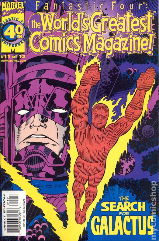 Fantastic Four The World's Greatest Comic Magazine (2001