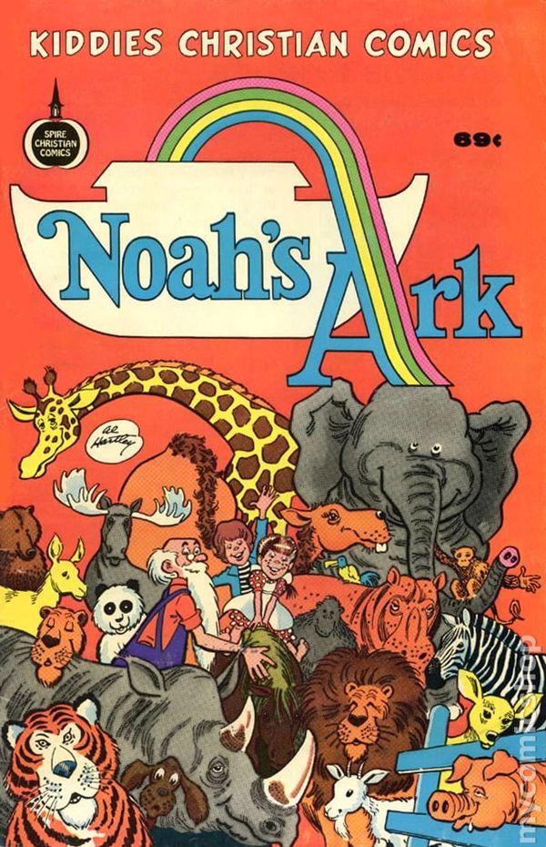 Noah's Ark (1975 Spire Christian Comics) comic books