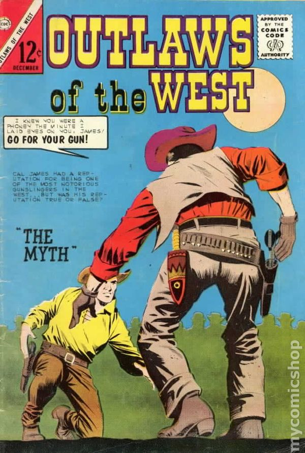 Outlaws of the West (1957 Charlton) comic books 7b9a374a6cb