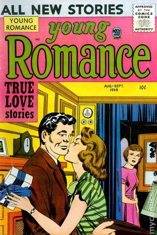 young romance comics  1947