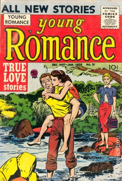 Young Romance Comics (1947-63) Vol. 11 comic books
