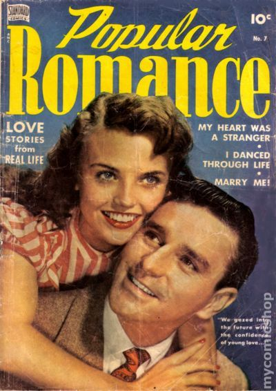 Popular Romance 1949 Comic Books