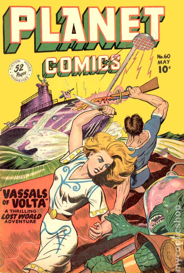 Planet Comics 1940 Fiction House Comic Books