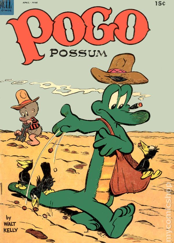 Pogo Possum 1949 Comic Books