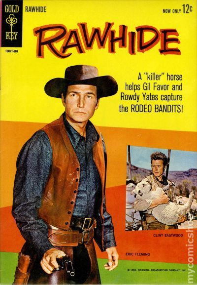 Image result for rawhide comic book