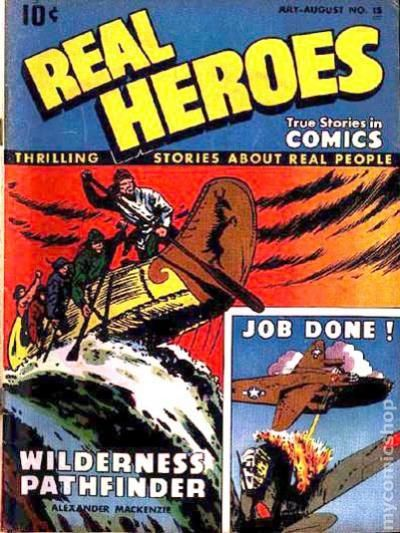 Real Heroes (1942) comic books