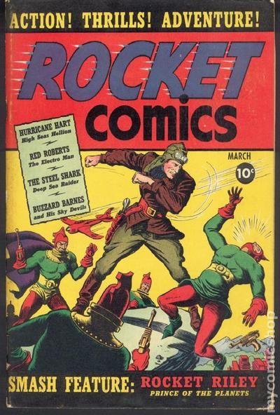 Rocket Comics 1940 Comic Books