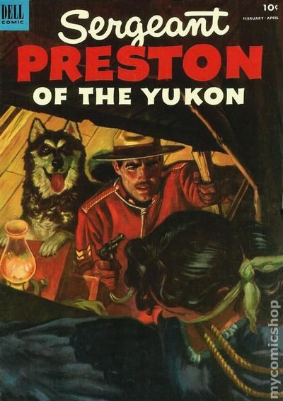 Image result for sergeant preston comic book