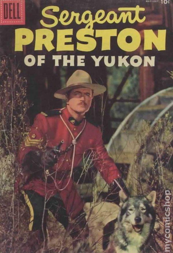 Sergeant Preston of the Yukon (1953) comic books