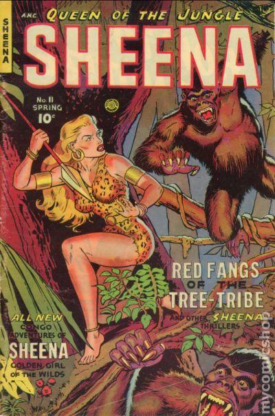 Sheena Queen Of The Jungle 1942 Fiction House Comic Books-2399