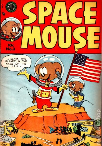 SPACE MOUSE COMICS: Issue #1 - Space Mouse and The Great Electro