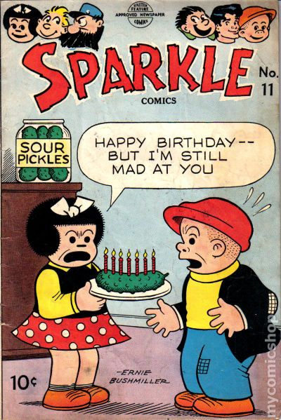 Image result for sparkle comics birthday