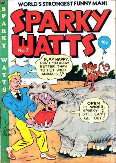 Comic Books In Hippopotamus
