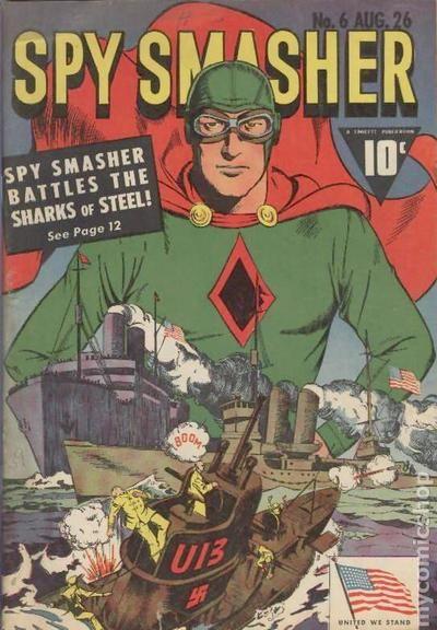 Spy Smasher 1941 Comic Books