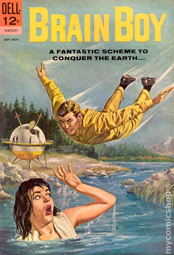 Brain Boy 1962 Comic Books
