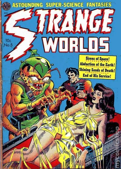 Image result for avon comics strange worlds
