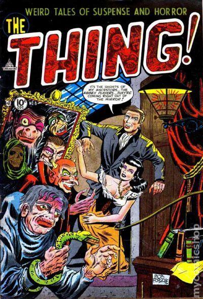 Comic Books In Snake