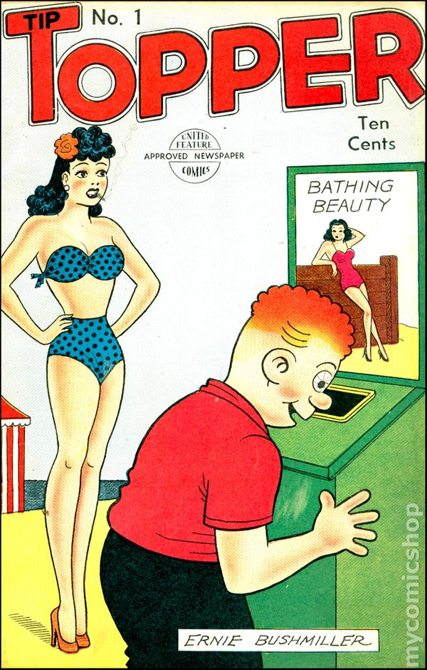 Tip Topper Comics 1949 Comic Books
