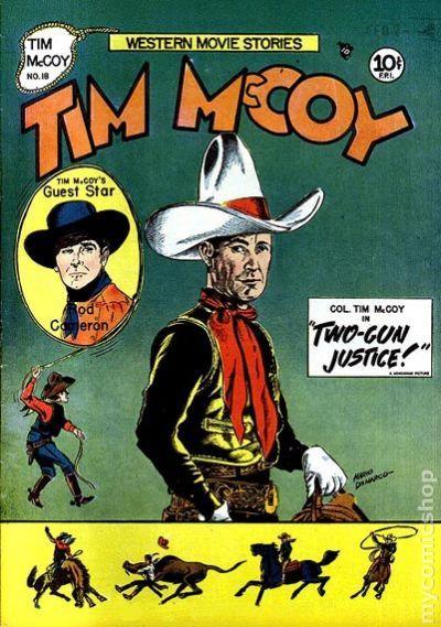 Tim McCoy (1948) comic books