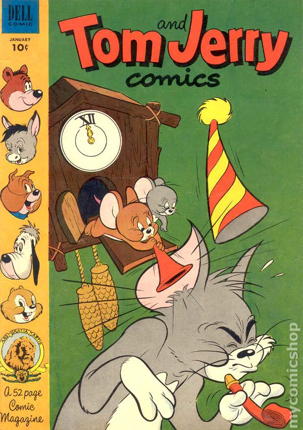 Tom And Jerry 1949 Dell Gold Key Comic Books