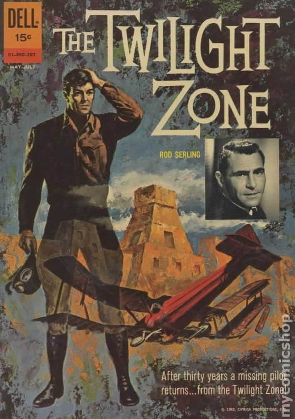 Book Cover Series Zone : Twilight zone st series dell gold key comic books