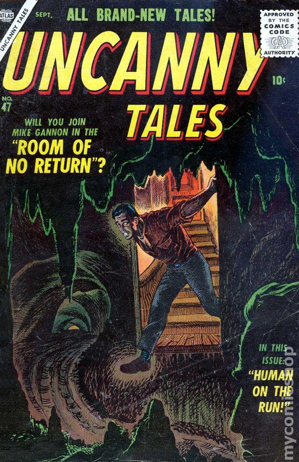 Uncanny Tales (1952 Atlas) comic books