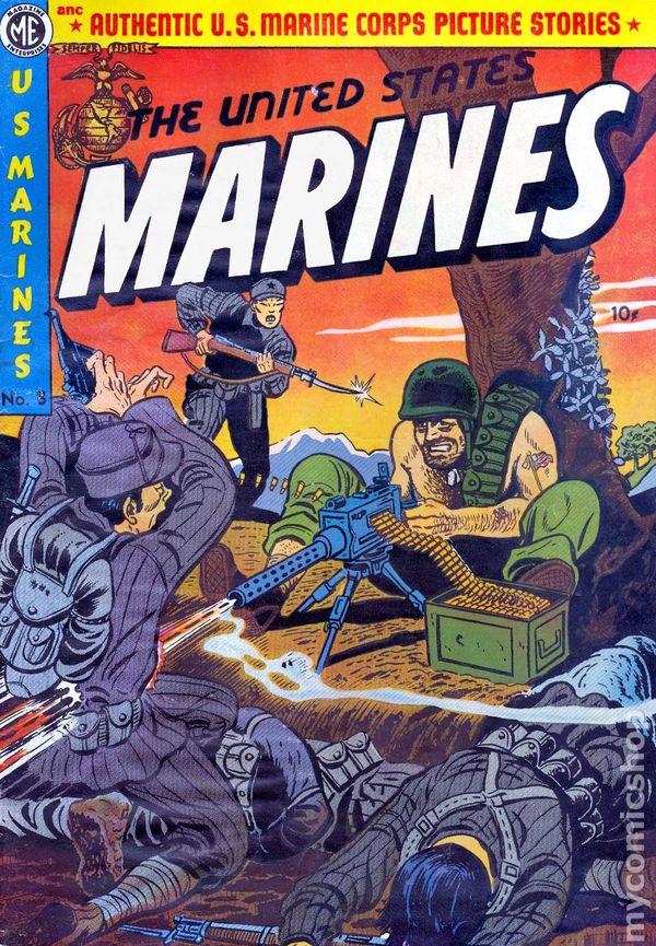 United States Marines (1943) comic books