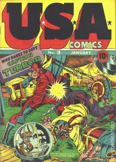 usa comics 1941 comic books