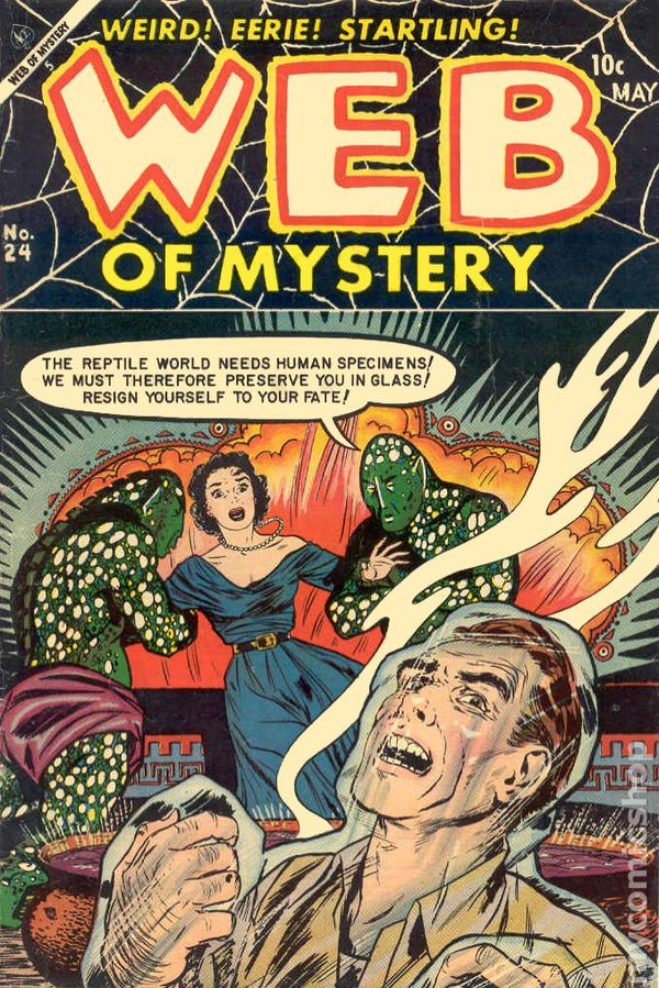 The description of Web of Mystery #9 Comic Book