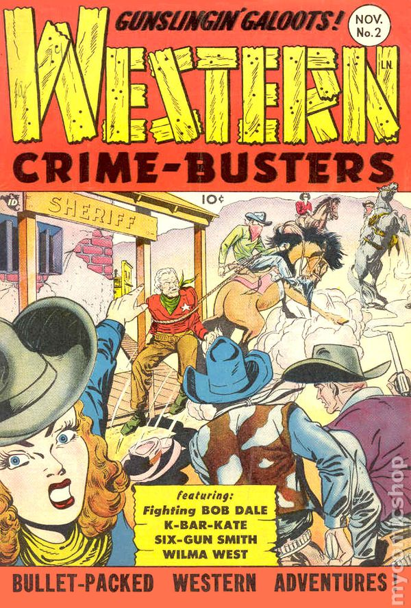 Western Crime Busters (1950) comic books