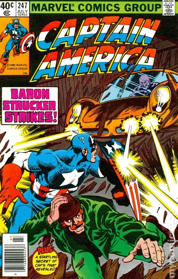 Resultado de imagem para Captain America (1968) n° 247/1980 - Marvel Comics