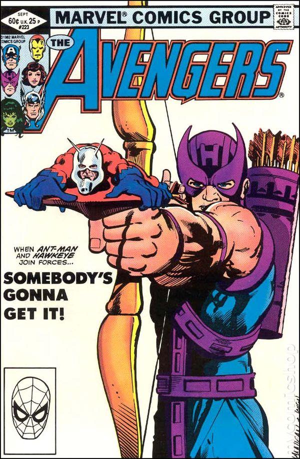 Avengers #216 VF 1982 Stock Image