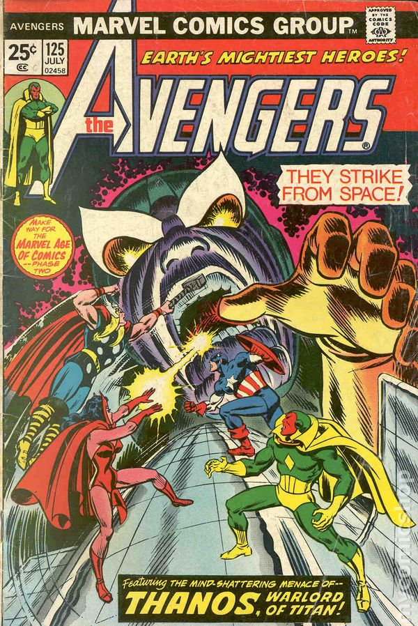comic books in  u0026 39 thanos  the final threat u0026 39