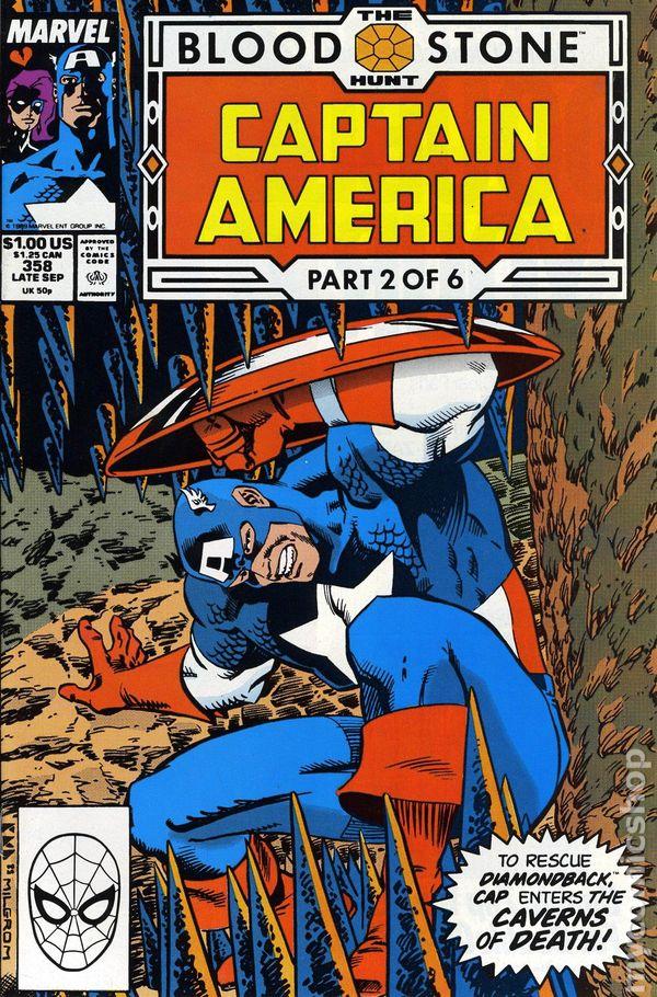 1968 #365 DWYER COVER ART 9.2 NM CAPTAIN AMERICA