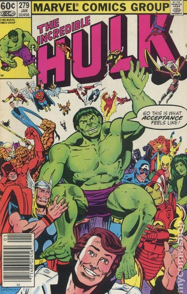 Comic books in spider man incredible hulk 1962 1999 1st series 279 fandeluxe Gallery