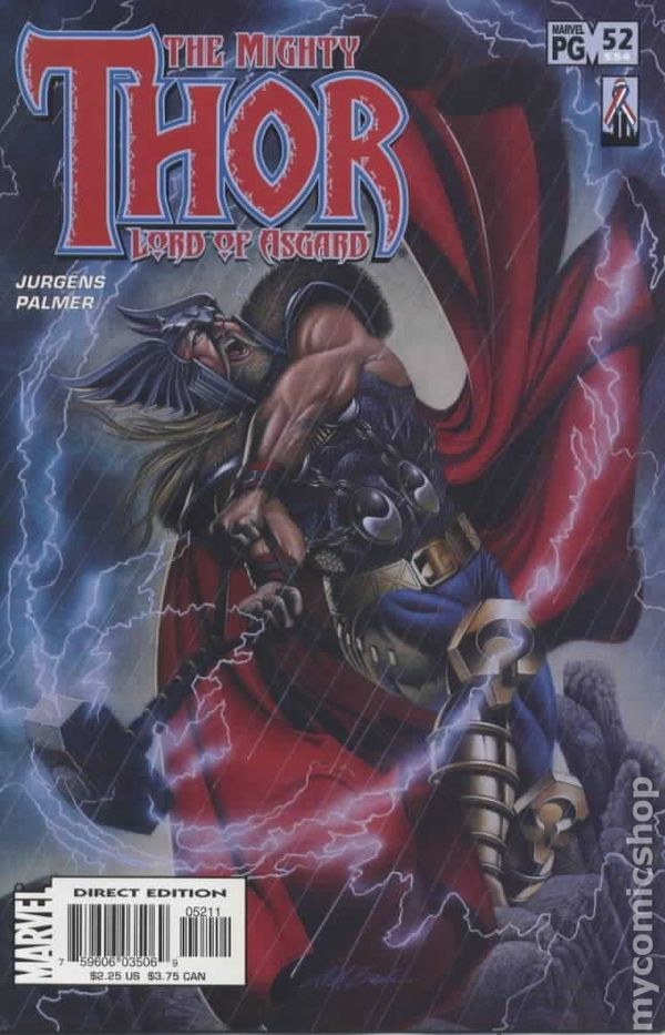 MARVEL COMICS THE MIGHTY THOR #71 NEAR MINT 2004 1998 2nd SERIES
