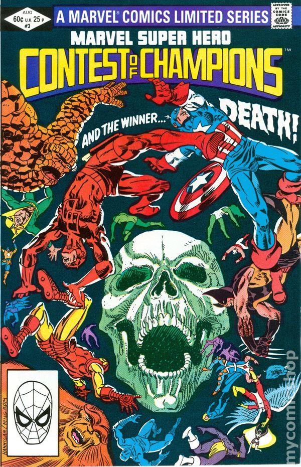 Resultado de imagem para marvel super-hero contest of champions