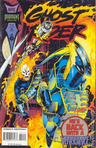 Ghost Rider comic books issue 51