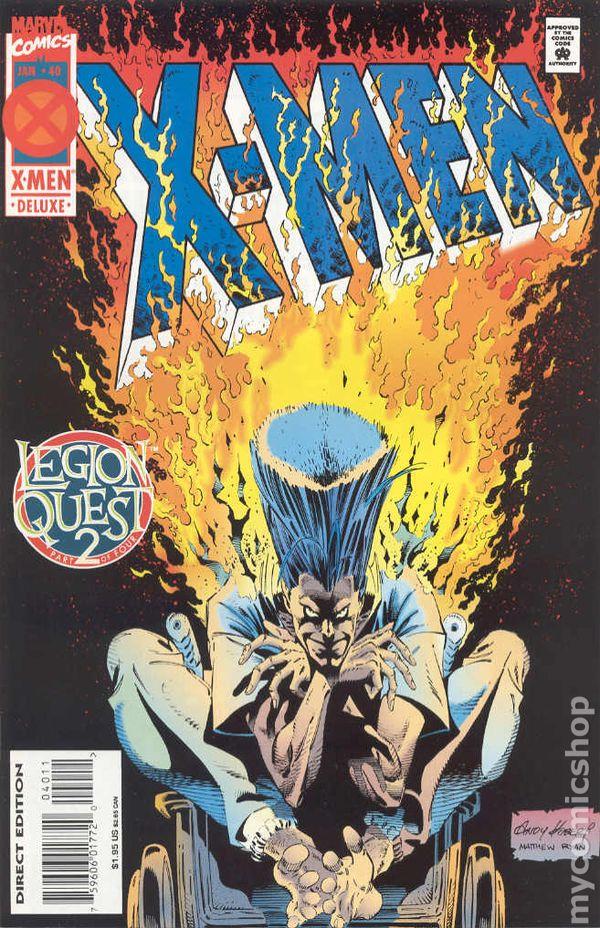 Book Cover Drawing Quest ~ Comic books in x men legion quest