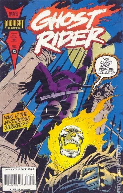 Ghost Rider 1990 2nd Series 52