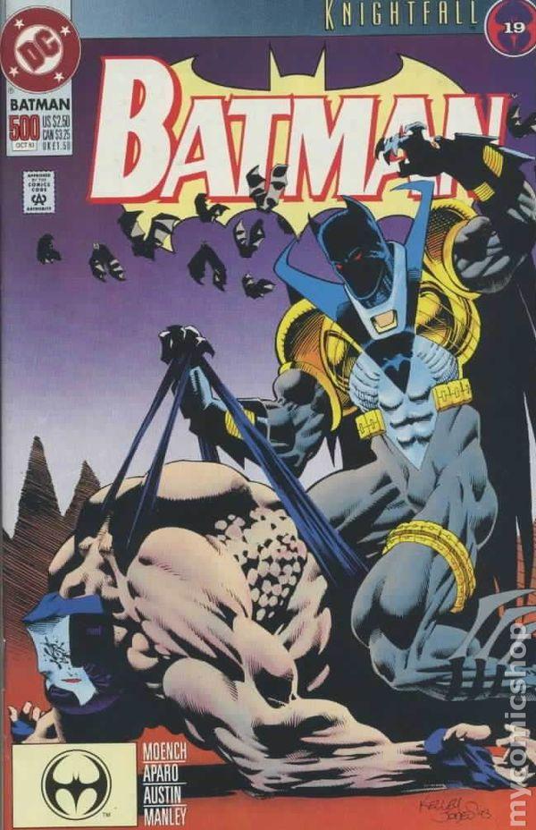 Batman #494 June 1993 DC Comics Moench Aparo Mandrake