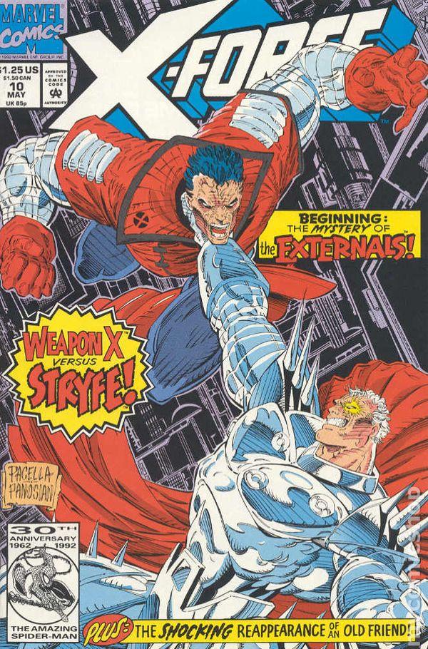 1st Print CABLE VS vol. 1 X-Force #15 DEADPOOL CAPULLO Marvel VF//NM KEY!