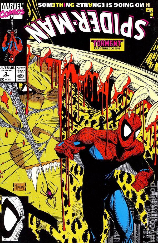 Spiderman #1 1990 Silver Edition KEY UNREAD!