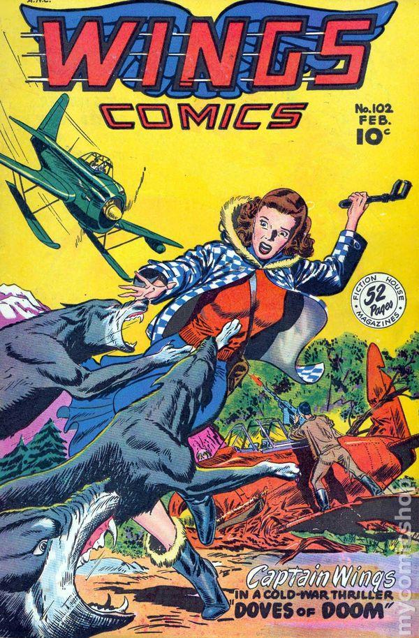 Wings Comics 1940 Comic Books