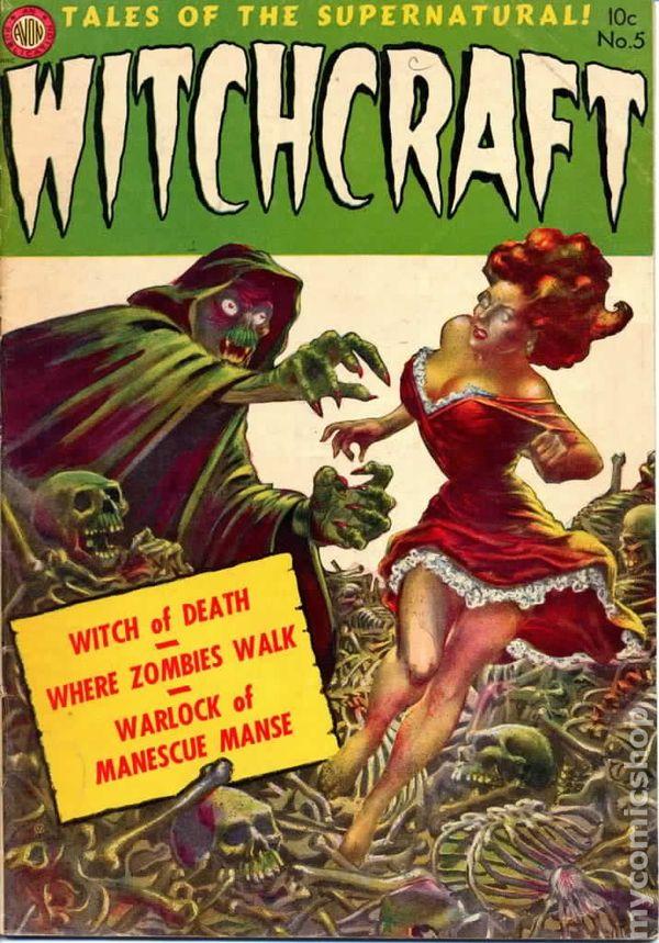 witchcraft  1952 avon  comic books