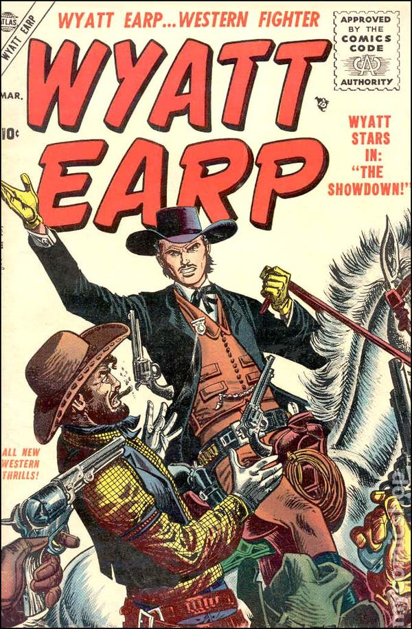 Image result for wyatt earp comic book
