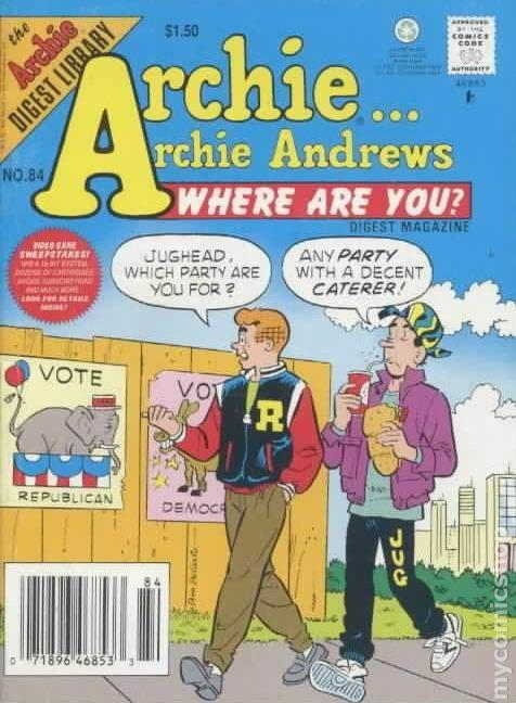 Archie andrews comic